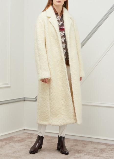Jil SanderFrejus wool and mohair coat