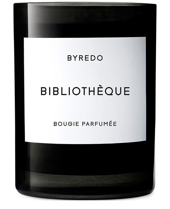 BYREDOBougie parfumée Bibliothèque 240 g