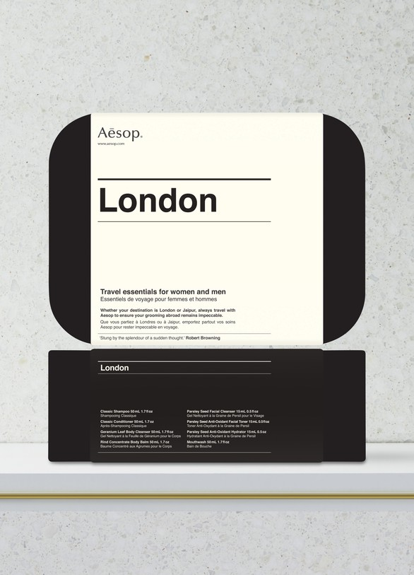 AESOP Aesop London Essentials, travel format