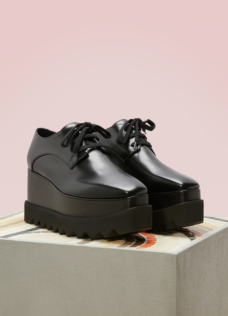 Stella McCartney Derbies compensées Elyse