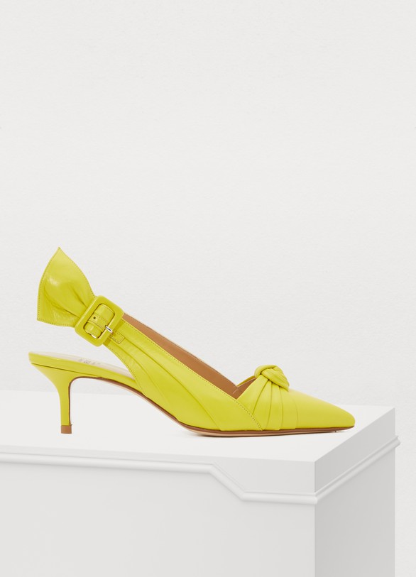 Francesco Russo Draped-effect heels