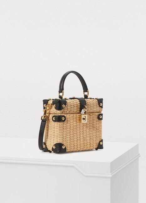 Dolce & GabbanaSac en paille Dolce Box