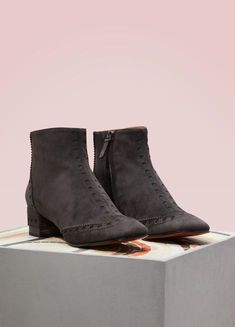 ChloéPerry suede ankle boots