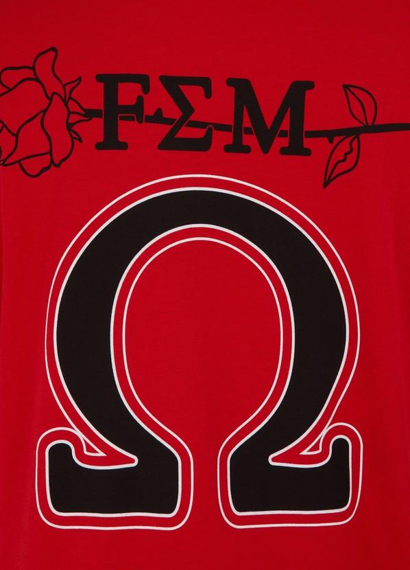 d85aea19e040a T-shirt motif universitaire femme | OPENING CEREMONY | 24S | 24S
