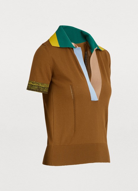 N 21 Colorblock top