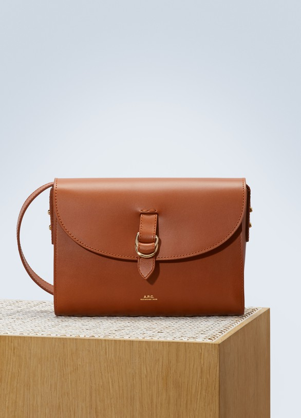 A.P.C. Alicia leather shoulder bag