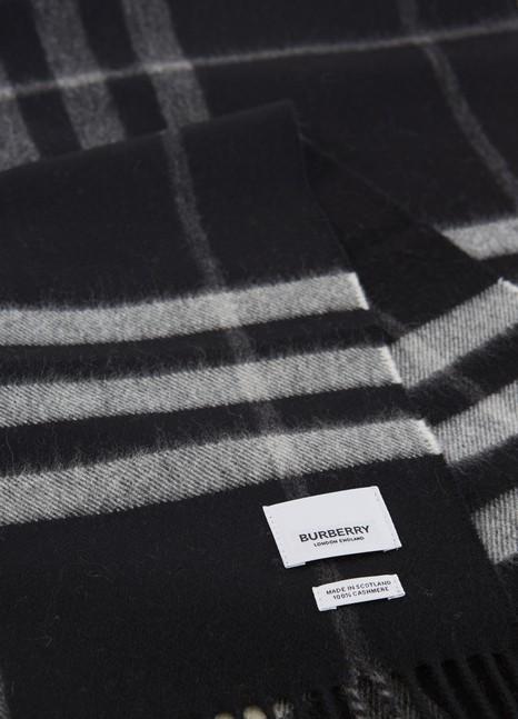 BURBERRYGiant check scarf