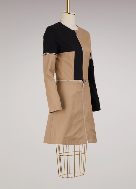 Courrèges Robe transformable à zip