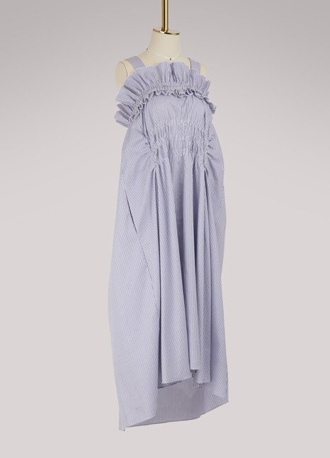 CarvenCotton midi dress