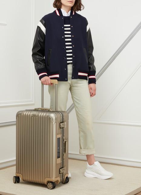 RimowaTopas Titanium multiwheel electronic tag luggage - 67L