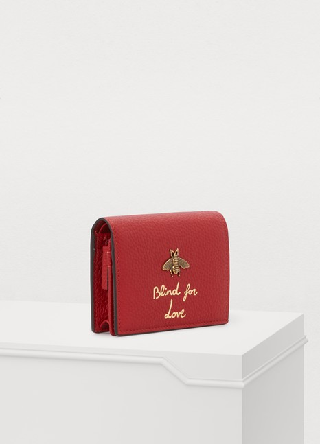 GUCCIBlind For Love mini wallet