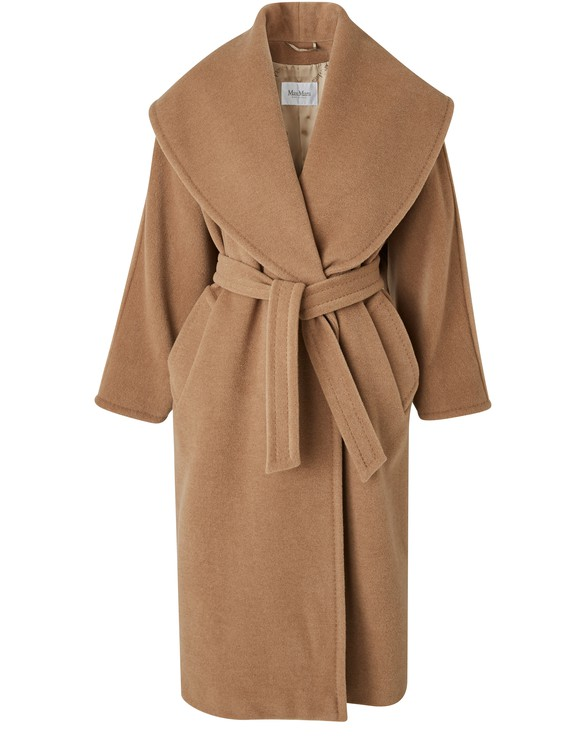 MAX MARA Fretty camel wool coat