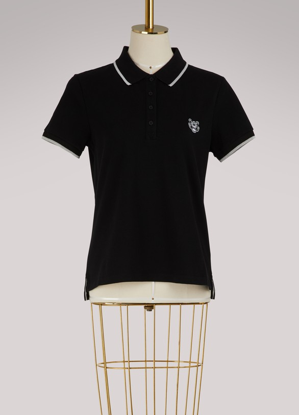 Kenzo Tiger cotton polo shirt