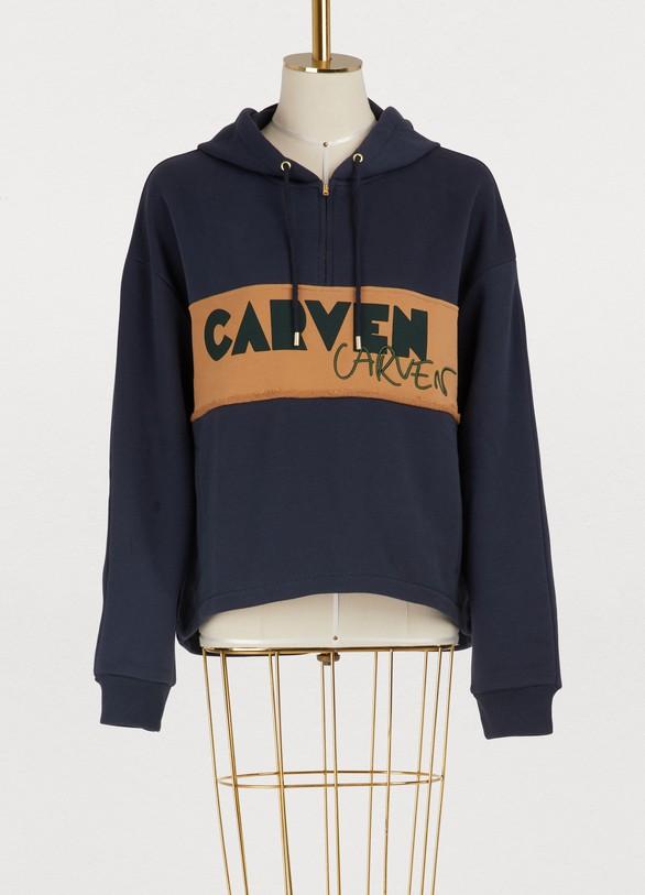 CarvenCarven printed hoodie