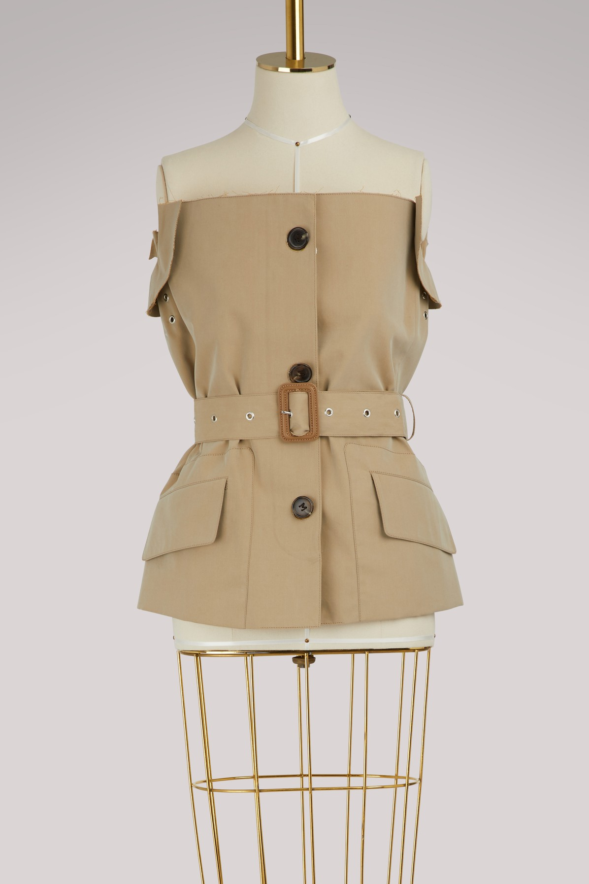 Trench bustier