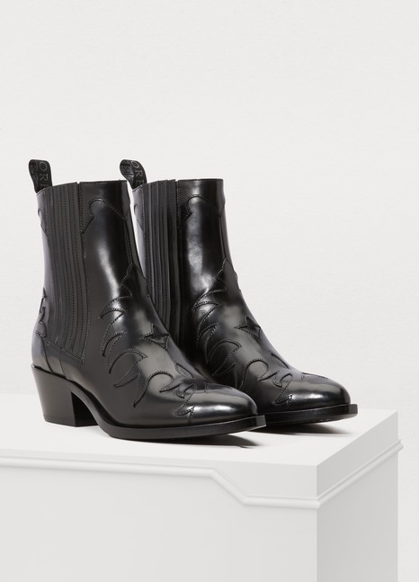 SARTOREFlamm leather ankle boots