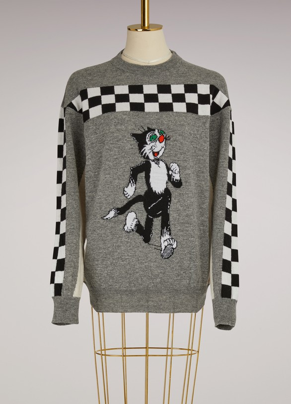 Stella McCartney Beano Intarsia Wool Sweater