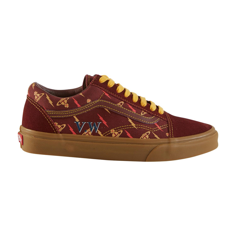 Vans X Vivienne Westwood Old Skool Suede Sneaker In Vzp1
