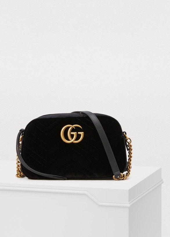 207da817e Women's GG Marmont velvet camera bag | Gucci | 24S | 24S