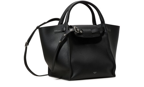CELINESmall Big Bag with long strap in supple grained calfskin