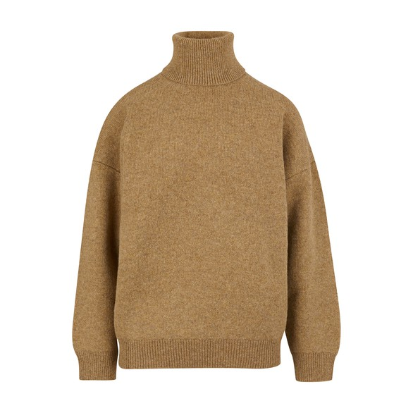 CELINEDouble-faced virgin wool and cashmere roll-neck jumper
