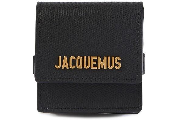 JACQUEMUSLeather bracelet bag