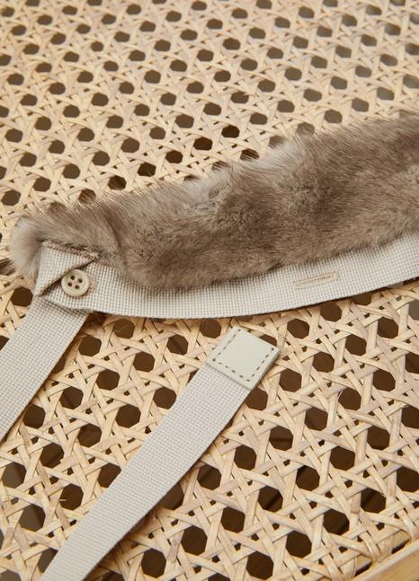 Max MaraAsbuurg mink fur collar