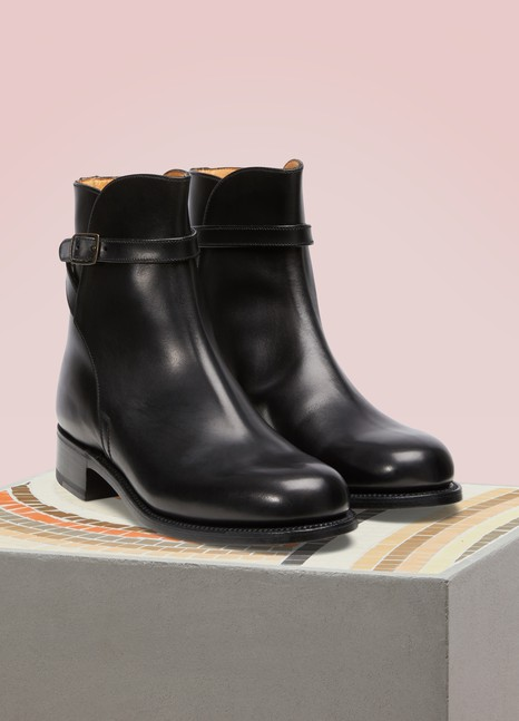 J.M. WESTON Bottines Jodhpur en veau box
