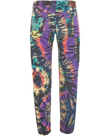 DRIES VAN NOTENPender Tie-Dye print jeans