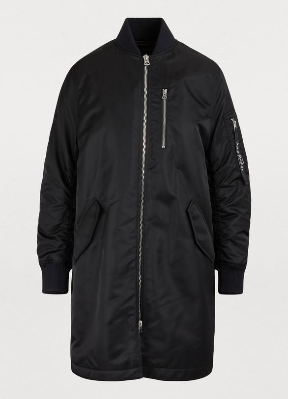 Acne StudiosLong bomber jacket
