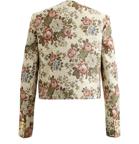 CELINE Hunting jacket with floral print