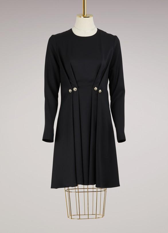 CarvenPleated Dress