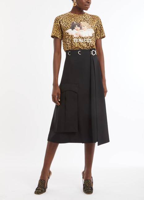 PRADAMilitary skirt