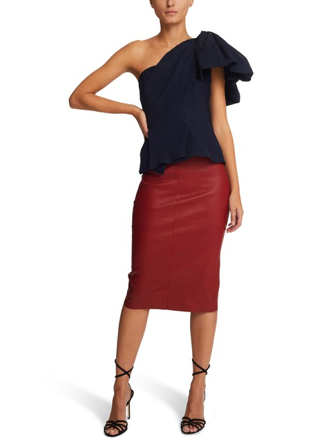 STOULSMegan leather skirt