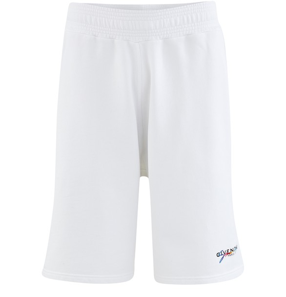 GIVENCHYRainbow Logo cotton shorts