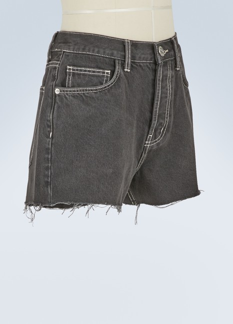 Current Elliott Short en jean taille ultra haute