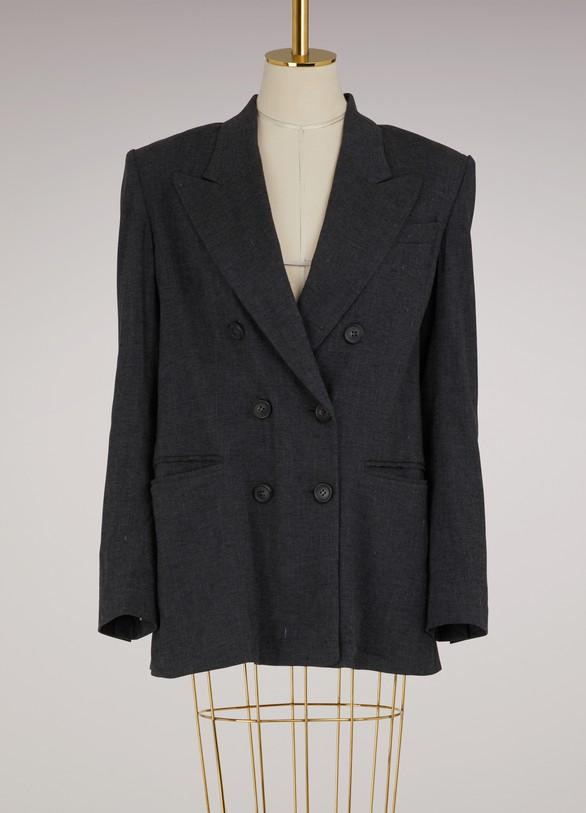 Isabel Marant EtoileLinen Orka jacket