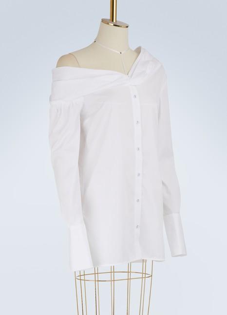 Victoria Victoria BeckhamOne Shoulder Shirt