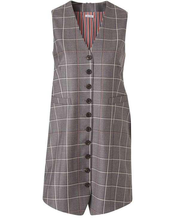 THOM BROWNEShort wool dress