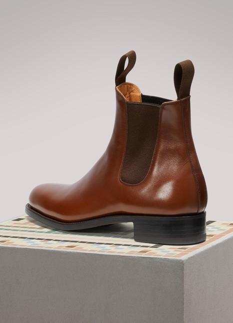 J.M. Weston Cambre Box Calf Chelsea Boots R39jS