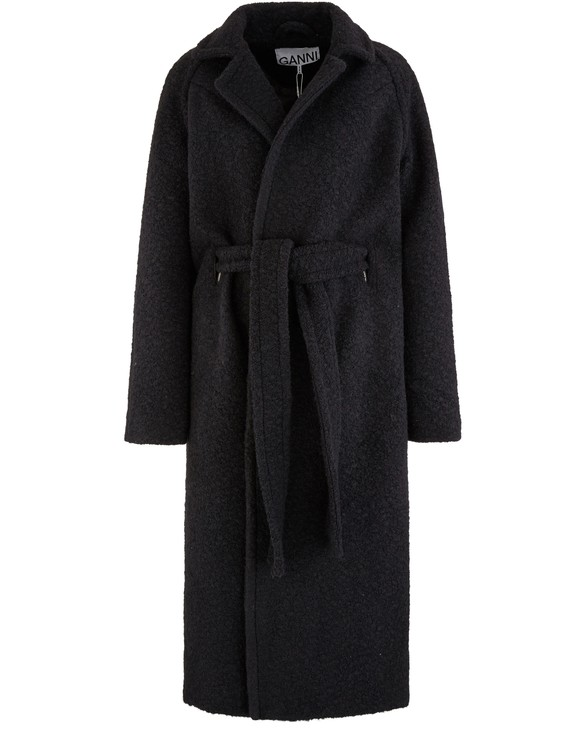 Long Belted Coat by Ganni