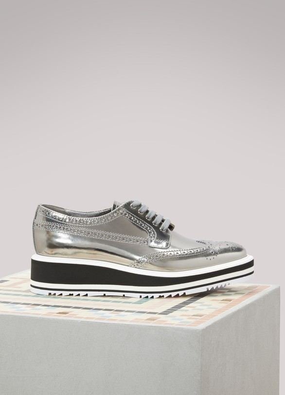 Prada Micro-Sole Brogues
