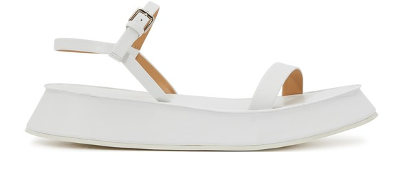 JIL SANDER Wedge sandals