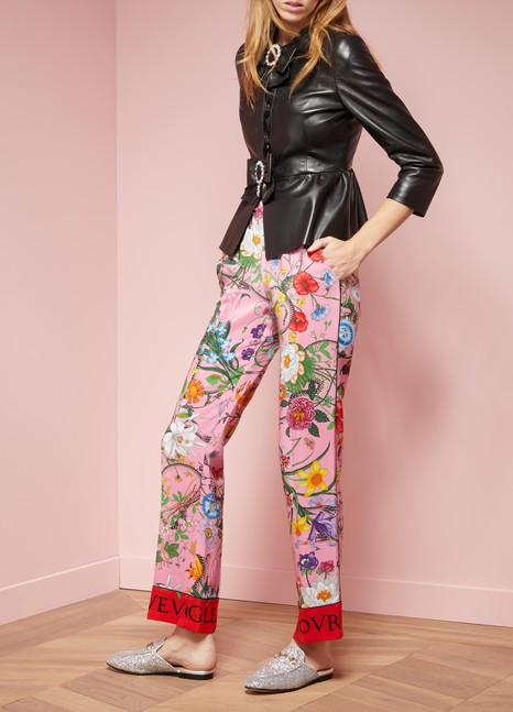 cb5049f1b Women's Glittering Princetown Mules | Gucci | 24S | 24S