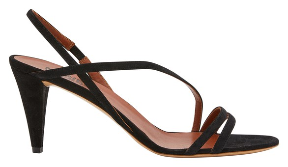 MICHEL VIVIEN Square sandals