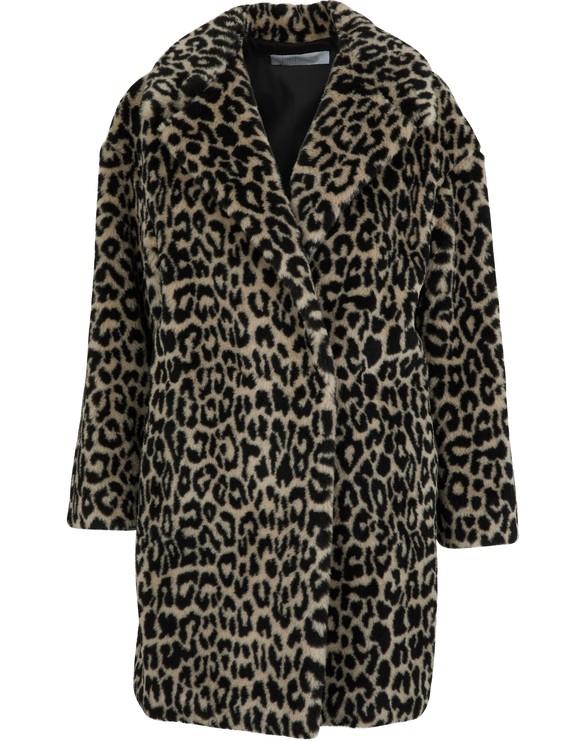 HARRIS WHARF Leopard coat