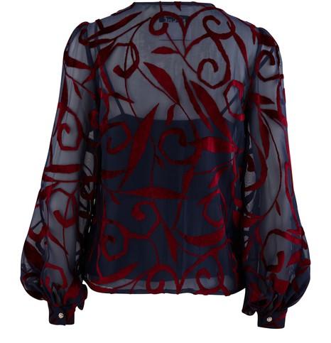 KOCHÉPuffed sleeve shirt