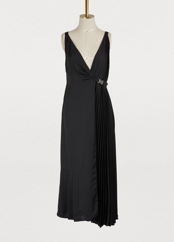 PradaAsymmetrical sleeveless dress
