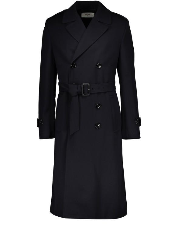 CELINEJapanese wool gabardine coat