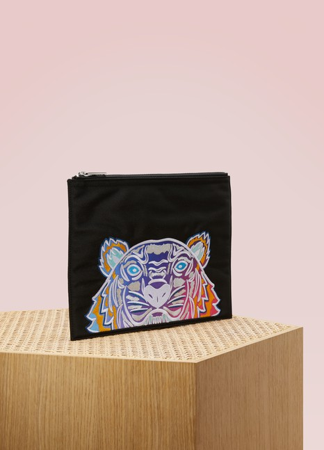 KenzoA4 Rainbow pouch